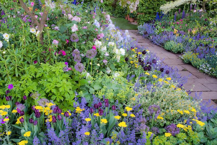 Plan d\'un jardin romantique