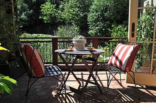 Terrasse vue sur jardin
