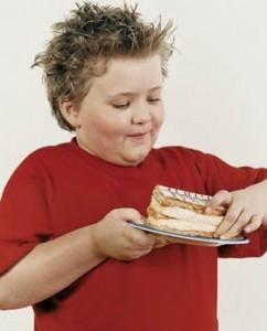 Obésité chez l'enfant