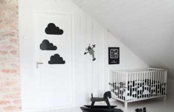 Style scandinave pour décorer la chambre bébé