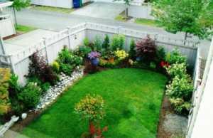 Aménagement paysager devant maison