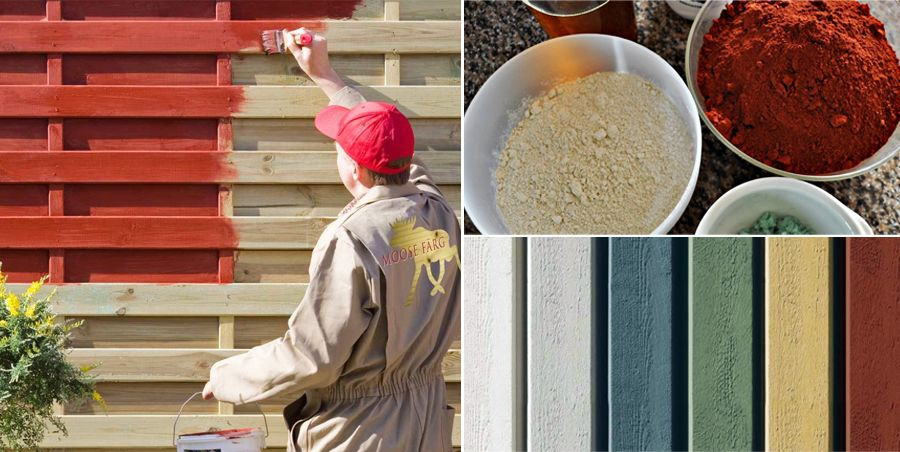 Peinture naturelle à la farine